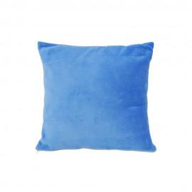 Kék plüss párnahuzat
